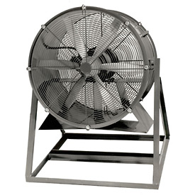 "Americraft 24"" TEFC Aluminum Propeller Fan With Medium Stand 24DAL-1/3M-3-TEFC 1/3 HP 5300 CFM"