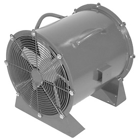 "Americraft 24"" Steel Propeller Fan With Low Stand 24DS-1L-3-TEFC 1 HP 7350 CFM"