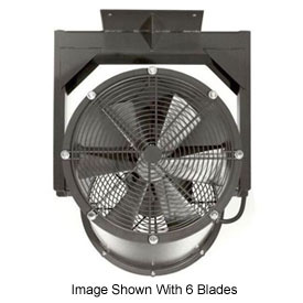 "Americraft 36"" TEFC Alum Propeller Fan W/ 1 Way Swivel Yoke 36DAL-11Y-3-TEFC-1 HP 13000 CFM"