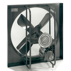 "24"" Commercial Duty Exhaust Fan - 3 Phase 3/4 HP"