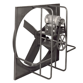 "30"" Industrial Duty Exhaust Fan - 3 Phase 1/4 HP"