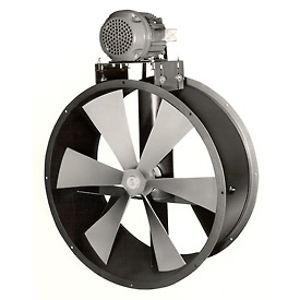 "27"" Totally Enclosed Dry Environment Duct Fan - 1 Phase 3/4 HP"