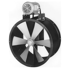 "30"" Totally Enclosed Wet Environment Duct Fan - 3 Phase 1-1/2 HP"