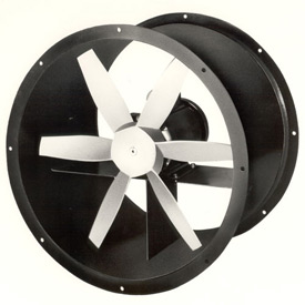 "36"" Totally Enclosed Direct Drive Duct Fan - 3 Phase 2 HP"