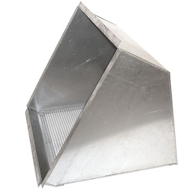 "Inlet Weatherhood With Birdscreen for 12"" Exhaust Fan"