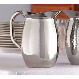 American Metalcraft DWP44 - Bell Pitcher, 44.8 Oz. (1.4 Qt.), Double Wall Insulated
