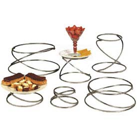 American Metalcraft SSUS6 - Riser Stand Set, Stainless Steel