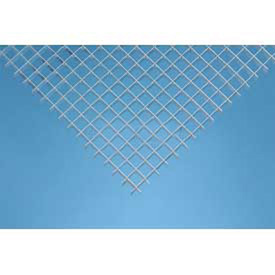 Silver, Aluminum Eggcrate Louver Package of 10