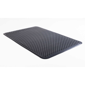Aleco® Anti-Fatigue Mat 2' x 3' Waffle Back, Black - 184552