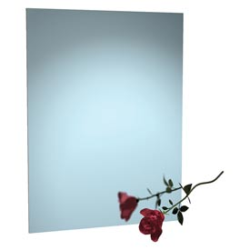 "ASI® Frameless Stainless Steel Mirror - 24""Wx36""H - 8026-2436"