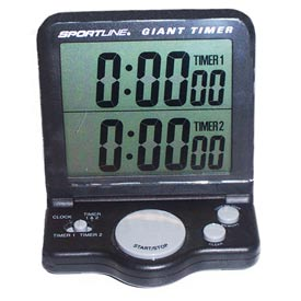 Clock Timer with Electronic Display