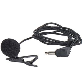 Wired Lapel Microphone