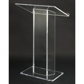 Large Top Clear Acrylic Podium / Lectern