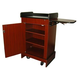 Multimedia Computer Podium / Lectern without Sound - Mahogany