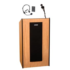 Wireless Presidential Plus Sound Podium / Lectern - Medium Oak