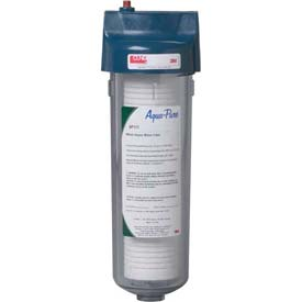 3M Aqua-Pure AP101T, Standard Whole House One-High Transparent Valve-in-Head Filter 3/4 NPT