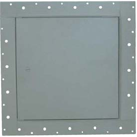 "Concealed Frame Access Panel For Wallboard, Cam Latch, Gray, 24""W x 24""H"