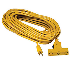 Lind Equipment Industrial Extension Cords - 25'L - 14/3 Sjtw Cord