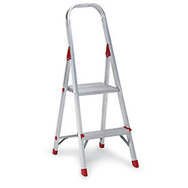 Louisville Type Iii Aluminum Platform Ladder - 3 Step