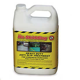 No Skidding Heavy-Duty Concrete Treatment - 1-Gallon Jug
