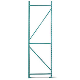 """Space Aid Upright Frame For Pallet Rack - 42X96"""" - 20,000-Lb. Maximum Capacity"""