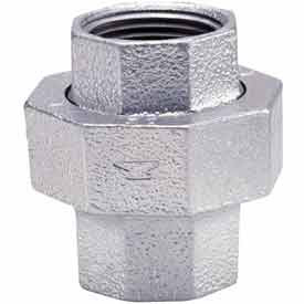 1/2 In Galvanized Malleable Union 150 PSI Lead Free