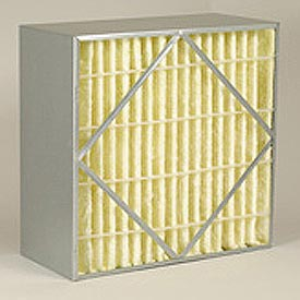 "Purolator® 5360792420 AERO-CELL® Rigid Box Filter 24""W x 24""H x 6""D"