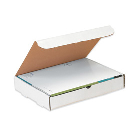 "Literature Mailer 12"" x 11-3/4"" x 3"" -1/ 4"" 200lb. B Test - 50 Pack"