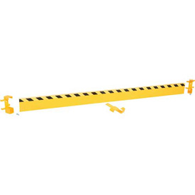 "Structural Guard Rail w/2 Drop-In Brackets - 144""L"