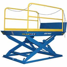 "Blue Giant® Elevating Dock ED5-7296 - 5000 Lb. Capacity - 72"" x 96"" Platform"