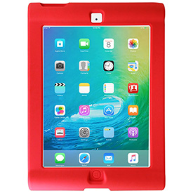 HamiltonBuhl Kids Protective Case for iPad 2 or iPad 3, Red