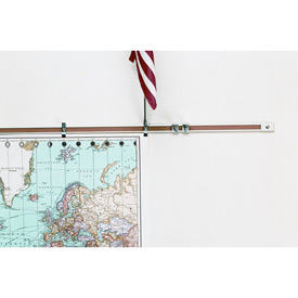 "Balt® Map Rails - Set of 6 - 72""W x 1""H"