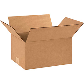 """Corrugated Boxes 12"""" x 9"""" x 6"""" 200lb. Test/ECT-32 25 Pack"""