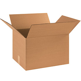 "Cardboard Corrugated Box 18"" x 14"" x 12"" 200lb. Test/ECT-32 - 25 Pack"