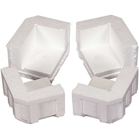 "Foam Corners 4-3/4"" x 4"" x 3-1/4"" - 320 Pack"