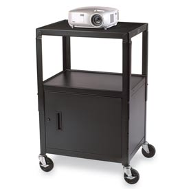 Bretford® Cabinet Base Adjustable AV Projector Cart