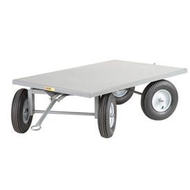 Little Giant® Tracking Trailer CT-3660-16P 36x60 - Flush Edge - Pneumatic Wheels - 2000 Lb.