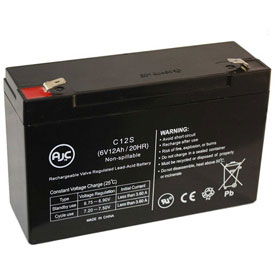 AJC® Siltron 134 6V 12Ah Emergency Light Battery
