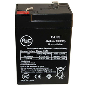 AJC® Atlite 241001 24-1001 6V 4.5Ah Emergency Light Battery