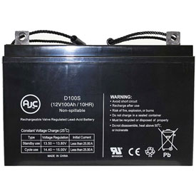 AJC® Longyear Company Hydraco 28 1986-80 12V 100Ah Sealed Lead Acid Battery