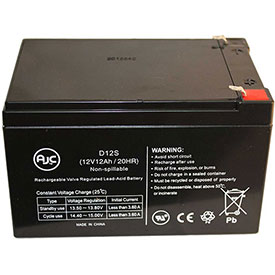 AJC® Electra Scoot-N-Go 9106301103 12V 12Ah Sealed Lead Acid Battery