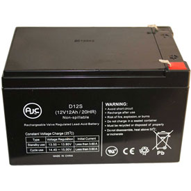 AJC® Beiz Electric BZ-6101 12V 12Ah Wheelchair Battery