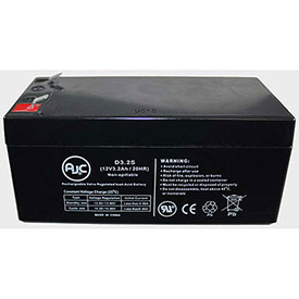 AJC® Battery Patrol ASLA1035 12V 3.2Ah Sealed Lead Acid Battery