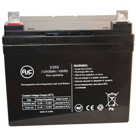 AJC® Independence AGM1234T 12V 35Ah Wheelchair Battery