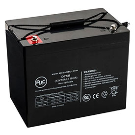 AJC® Mart Cart Model 02002 12V 75Ah Wheelchair Battery