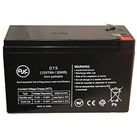 AJC® Solo Products Solo Products 12V 7Ah Sealed Lead Acid Battery