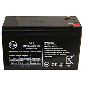 AJC® Geek Squad Best Buy GS-975U GS-1000U 12V 8Ah UPS Battery