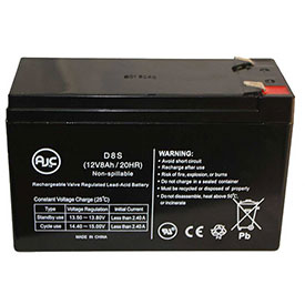 AJC® Reserve Warrior RW1280 12V 8Ah Sealed Lead Acid Battery