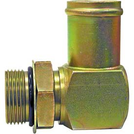 "90° Straight Thread Hose Cnctr, H890x20x16, 1"" Male Sae Thread, 1-1/4"" Hose Id-Min Qty 3"