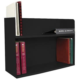 Two Tier Book Rack - Black